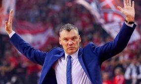 Patenkintas Jasikevičius: fantastiška pergalė, bet negalima užmigti ant laurų
