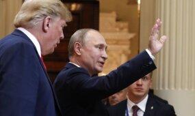 Po pasipiktinimo bangos dėl susitikimo su Putinu – neįprastas Trumpo pareiškimas
