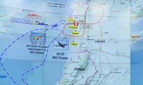 Rusija širsta dėl numušto lėktuvo, grasina imtis atsakomųjų veiksmų