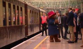 Besilaukianti K. Middleton viešumoje šoko su meškučiu Paddingtonu