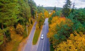 Orai: prasideda rudeninė pasaka