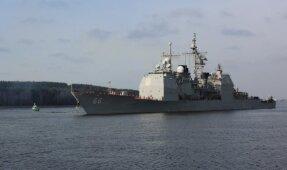 USS Hue City Klaipėdoje'