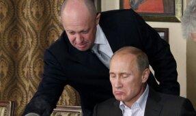 Jevgenijus Prigožinas, Vladimiras Putinas'