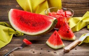 Naudingosios arbūzo savybės + RECEPTAS