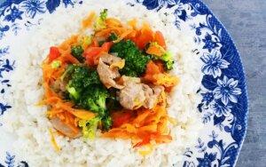 Greitai pagaminami, maistingi ir sveiki pietūs