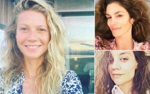 Gwyneth Paltrow, Cindy Crawford, Katie Holmes – tik kelios iš daugelio žymių moterų, kurioms nėra svetimas natūralizmas