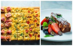Receptai savaitgaliui: itališkos duona ir sūrios karamelės pyragas