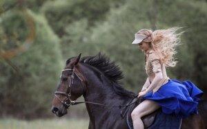 Ona Jasinskaitė: jei ne žirgai, gyvenime jau būčiau daug kartų pasidavusi