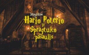 Haris Poteris ir Spragtukas susitinka Šv. Kotrynos bažnyčioje