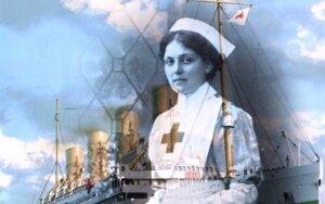 """Neskęstančioji: kaip Violet Jessop išgyveno """"Titaniko"""" ir dar dviejų laivų katastrofas"""