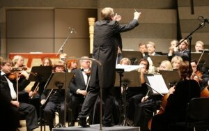 Muzikiniams žygdarbiams pasiruošę Lietuvos valstybinio simfoninio orkestro herojai