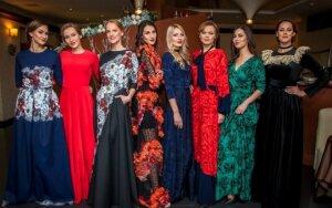 Šventėms – vakarinių suknelių kolekcija