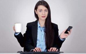 Ar gebėjimas dirbti kelis darbus vienu metu lavina protą?