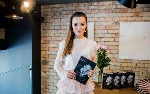 Simona Burbaitė pristatė pirmąją savo knygą
