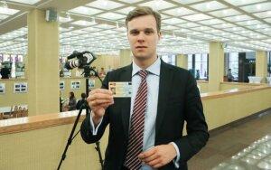 A. Guoga rečiau už kitus europarlamentarus skubės į Lietuvą
