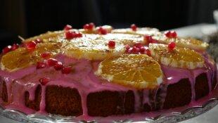 Sicilietiškas apelsinų pyragas