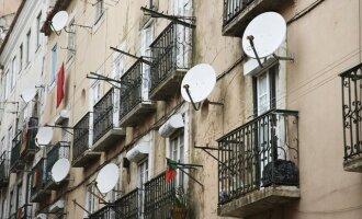 Palydovinės televizijos antenos
