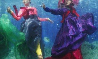 Povandeninis madų šou Korėjoje