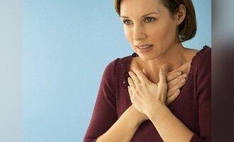 Krūtinė, skausmas