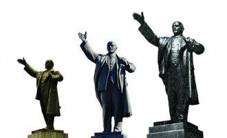Skulptoriaus N. Tomskio Lenino klonai, pastatyti: 1940 m. Voroneže, 1952 m. Irkutske, 1952 m. Vilniuje.