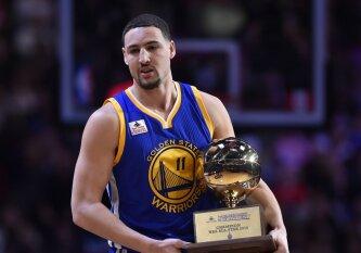 """""""Iš viršaus"""": NBA tritaškių konkurso belaukiant: išsami snaiperių mūšio dalyvių apžvalga"""