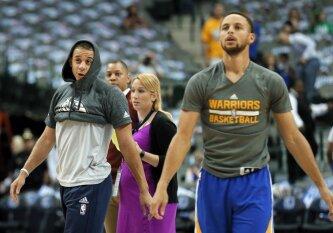 """NBA naktis: """"Spurs"""" išvargo pergalę Minesotoje, brolių Curry dvikova – į vieną krepšį"""