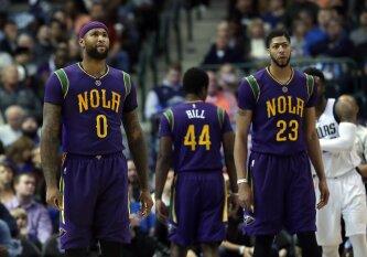 """""""Pelicans"""" nusileido vieniems pagrindinių konkurentų, D. Motiejūnas rungtynes stebėjo nuo suolo"""