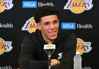 """Milžiniški lūkesčiai ir neišmatuojamas spaudimas – """"Lakers"""" talento L. Ballo laukia """"krikštas ugnimi"""""""