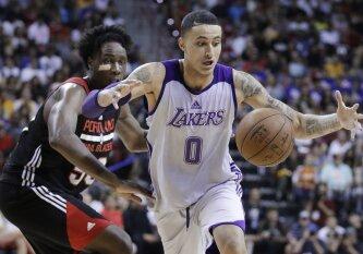 """NBA Vasaros lygos finale """"Lakers"""" klubas įveikė """"Trail Blazers"""" komandą"""