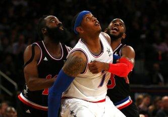 """C. Anthony į """"Rockets"""": kokios kliūtys stabdo laukiamiausiais tapusius NBA mainus?"""