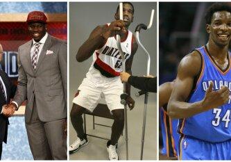 Žioplos klaidos ir šūviai pro šalį: nesėkmingiausi pastarojo dešimtmečio NBA šaukimai