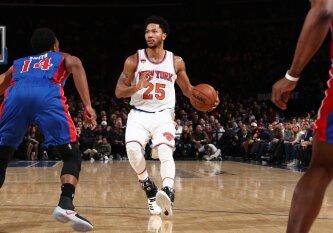 """NBA superžvaigžde buvęs D. Rose\'as palieka """"Knicks"""" ir žais """"Cavaliers"""""""