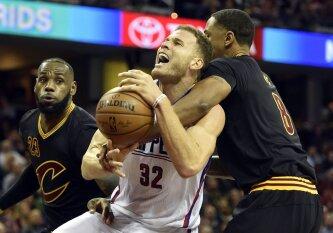 """B. Griffino manymu, L. Jamesas kitą vasarą persikels į """"Knicks"""""""