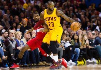 """NBA naktis: fantastiška Rytų konferencijos lyderių akistata ir svarbi """"Trail Blazers"""" pergalė"""