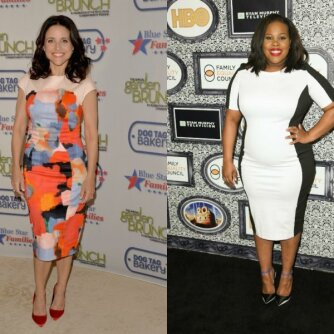 Julia Louis-Dreyfus, Amber Riley