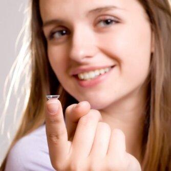 7 mitai apie kontaktinius lęšius