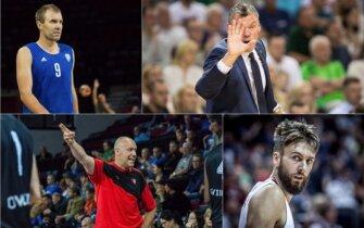 Tomas Delininkaitis, Šarūnas Jasikevičius, Rimas Kurtinaitis, Žanis Peineris (Vytauto Pujanausko, Kirilo Čachovskio, FIBA nuotr.)
