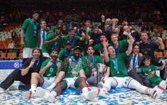 Europos taurės finalas Valencia Basket - Unicaja