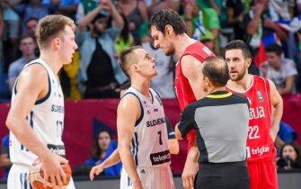 Slovėnija palaužė Serbiją ir tapo naująja Europos krepšinio karaliene!