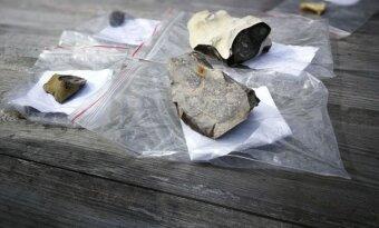 Akmeninis kirvukas ir titnago įrankiai liudija, kad Kopgalyje žmonės gyveno jau neolito amžiuje.