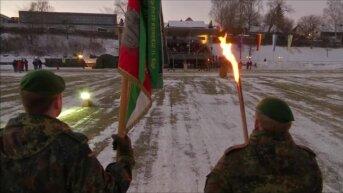 Батальон из Германии отправляется в Литву в рамках миссии НАТО