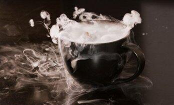 Būrimas iš kavos tirščių