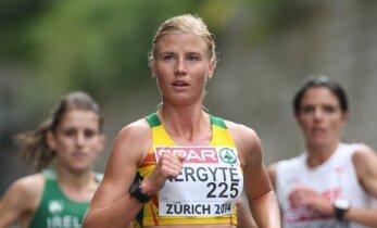 Maratonininkė R. Kergytė: su Ž. Balčiūnaite esame panašaus pajėgumo
