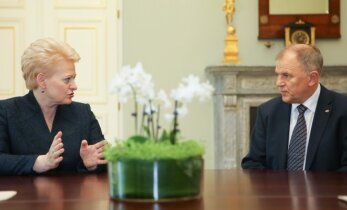 V. Andriukaitis atsikerta į D. Grybauskaitės kritiką: tai puikus neatsakingo kalbėjimo pavyzdys