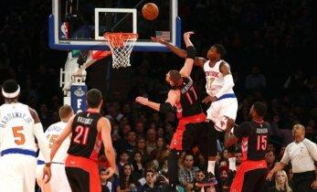 """Krachas tęsiasi: """"Raptors"""" pralaimėjo ir blogiausiai NBA lygos komandai"""