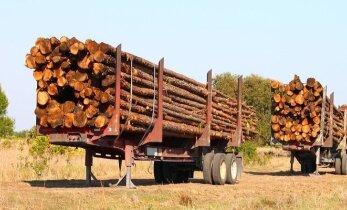 Sunkesni miškovežiai palengvino darbą