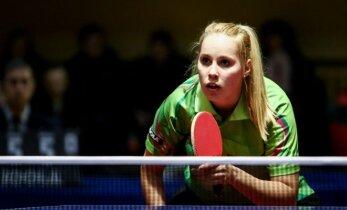Lietuvos stalo teniso čempionate E. Stuckytė užtikrintai gina savo titulą