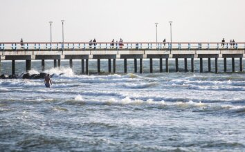 Poilsiautojų elgesys Palangos paplūdimyje atima žadą