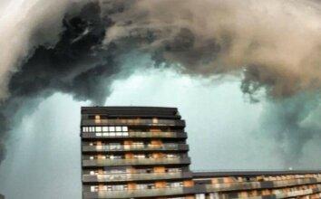 Lietuvoje praūžė audra: skendo Vilnius ir Kaunas