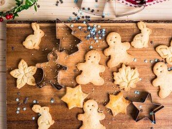 Sviestiniai sausainiai KALĖDOMS